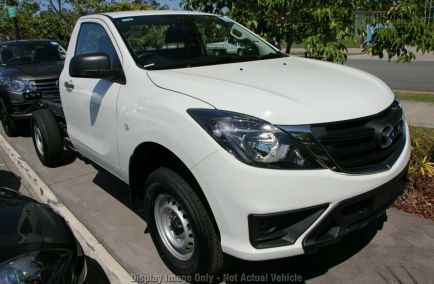New 2018 MAZDA BT-50 UR0YG1 Cab Chassis 2dr XT Single Cab Spts Auto 6sp 4x4 3.2DT 1380kg