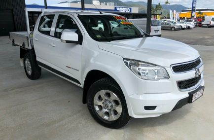 Used 2016 HOLDEN COLORADO RG Cab Chassis 4dr LS Crew Cab Spts Auto 6sp 4x4 2.8DT 1217kg