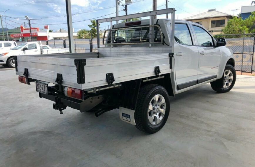 2016 HOLDEN COLORADO LS  RG Turbo CAB CHASSIS Dual Cab