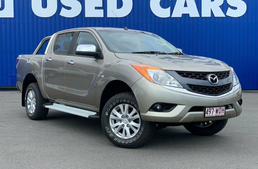 2014 MAZDA BT-50 XTR Hi-Rider UP0YF1 Turbo UTILITY Dual Cab