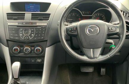 2014 MAZDA BT-50 XTR Hi-Rider UP0YF1 Turbo Dual Cab Utility