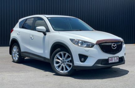 Used 2012 MAZDA CX-5 KE1021 Wagon 5dr Grand Touring SKYACTIV-Drive 6sp AWD 2.2DTT 449kg