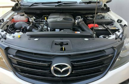 2019 MAZDA BT-50 Boss  UR0YG1 Turbo Dual Cab Utility