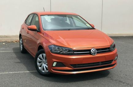 New 2018 VOLKSWAGEN POLO AW Hatchback 5dr 70TSI Trendline Man 5sp 1.0T