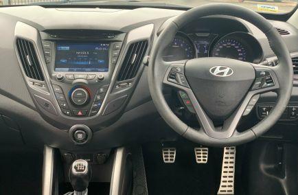 2013 HYUNDAI VELOSTER SR Turbo FS2 Turbo Hatchback