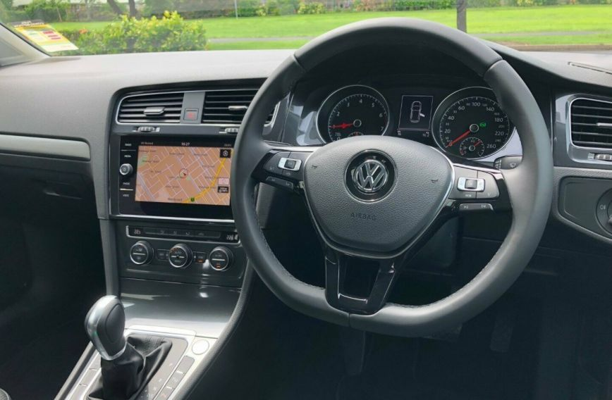 2018 VOLKSWAGEN GOLF 110TSI Comfortline 7.5 Turbo HATCHBACK