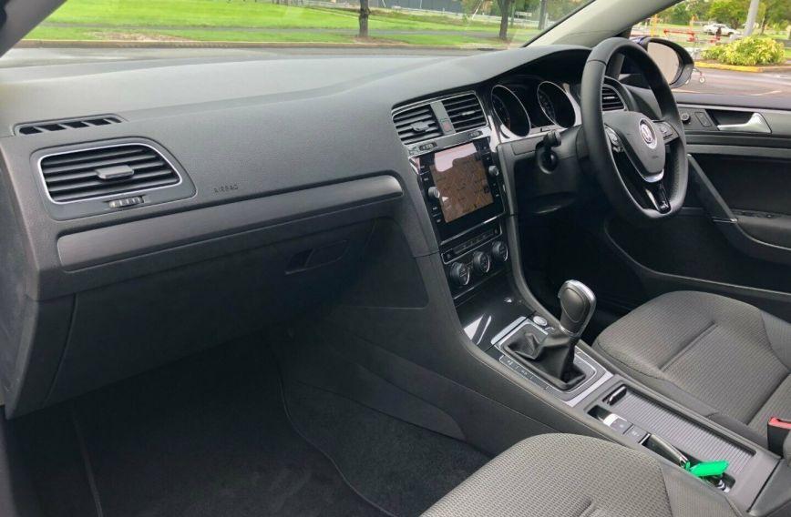 2018 VOLKSWAGEN GOLF 110TSI Comfortline 7.5 Turbo HATCHBACK