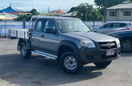 Used 2006 MAZDA BT-50 UNY0E3 Cab Chassis 4dr DX+ Freestyle Man 5sp 4x2 3.0DT 1374kg