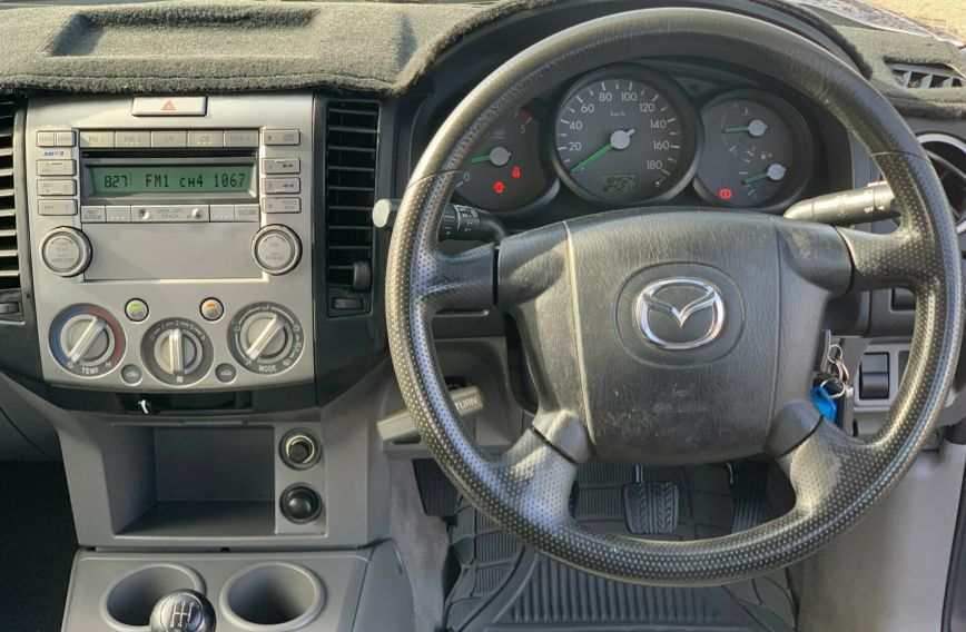 2006 MAZDA BT-50 DX+  UNY0E3 Turbo CAB CHASSIS Extended C