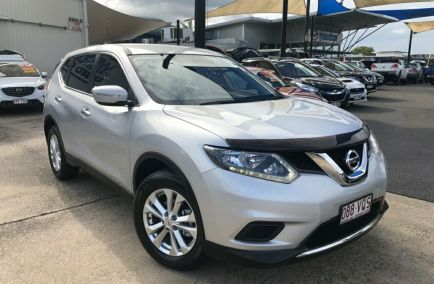 Used 2014 NISSAN X-TRAIL T32 Wagon 5dr ST X-tronic 7sp 2WD 2.5i 525kg