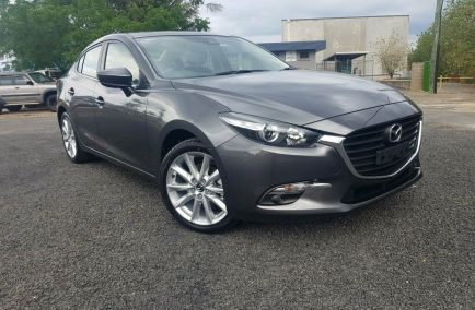 Demo 2018 MAZDA 3 BN5236 Sedan 4dr SP25 SKYACTIV-MT 6sp 2.5i