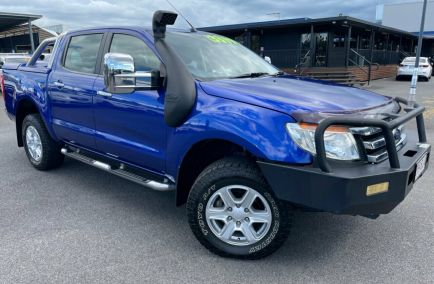 Used 2013 FORD RANGER PX XLT Utility Double Cab 4dr Man 6sp 4x4 1041kg 3.2DT