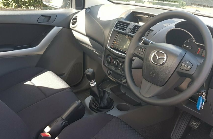 2018 MAZDA BT-50 XT  UR0YE1 Turbo CAB CHASSIS Single Cab