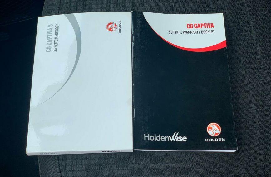 2013 HOLDEN CAPTIVA 5 LT CG Turbo WAGON
