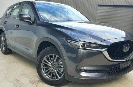 New 2020 MAZDA CX-5 KF4W2A Wagon 5dr Touring SKYACTIV-Drive 6sp i-ACTIV AWD 2.2DTT 500kg
