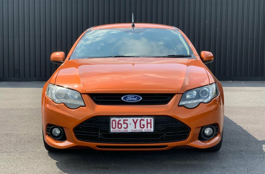 2012 FORD FALCON UTE XR6  FG MkII  UTILITY Extended Cab