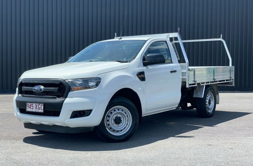2015 FORD RANGER XL  PX MkII Turbo CAB CHASSIS Single Cab