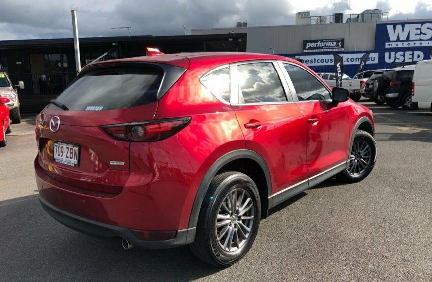 2017 MAZDA CX-5 Touring  KF4WLA  WAGON