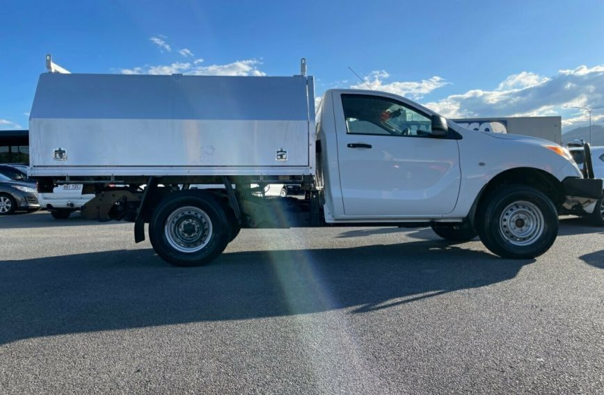 2013 MAZDA BT-50 XT  UP0YF1 Turbo CAB CHASSIS Single Cab