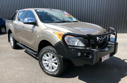 Used 2014 MAZDA BT-50 UP0YF1 Utility 4dr XTR Dual Cab Man 6sp 4x4 3.2DT 1114kg