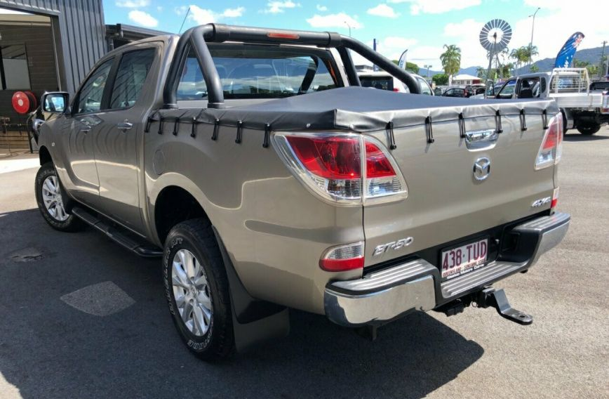 2014 MAZDA BT-50 XTR  UP0YF1 Turbo UTILITY Dual Cab