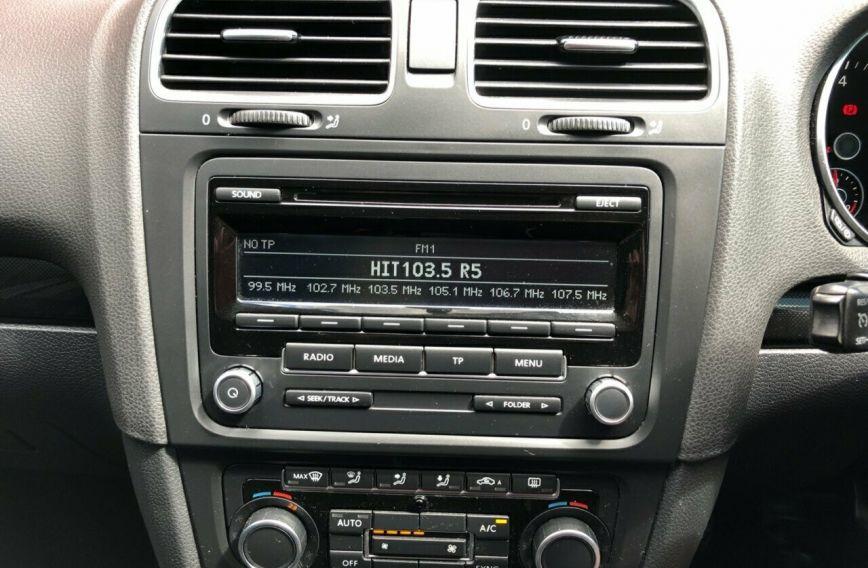 2012 VOLKSWAGEN GOLF 118TSI Comfortline VI S/Charge HATCHBACK