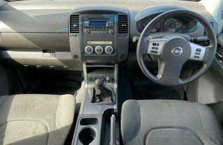 2011 NISSAN NAVARA ST  D40 Turbo Dual Cab Utility