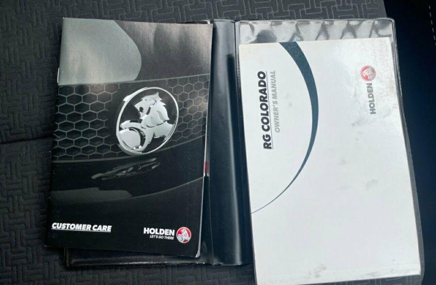 2016 HOLDEN COLORADO LT  RG Turbo Dual Cab Utility