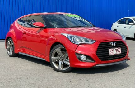 Used 2015 HYUNDAI VELOSTER FS3 Hatchback 4dr SR Turbo Coupe Spts Auto 6sp 1.6T 403kg