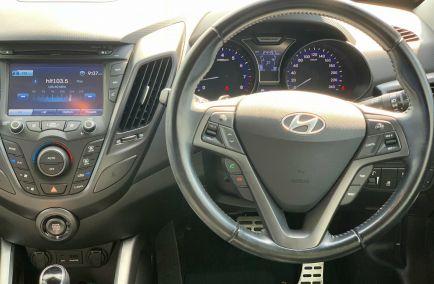 2015 HYUNDAI VELOSTER SR Turbo FS3 Turbo Hatchback
