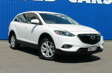 Used 2013 MAZDA CX-9 TB10A5 Wagon 5dr Classic 7st Activematic 6sp 3.7i