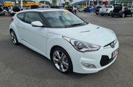 Used 2013 HYUNDAI VELOSTER FS2 + Coupe 4dr D-CT 6sp 1.6i