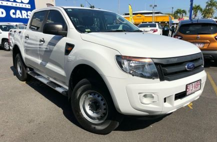Used 2014 FORD RANGER PX Utility 4dr XL Hi-Rider Double Cab Spts Auto 6sp 4x2 2.2DT 1257kg