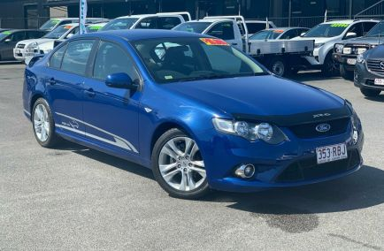 Used 2010 FORD FALCON FG Sedan 4dr XR6 Spts Auto 6sp 4.0i