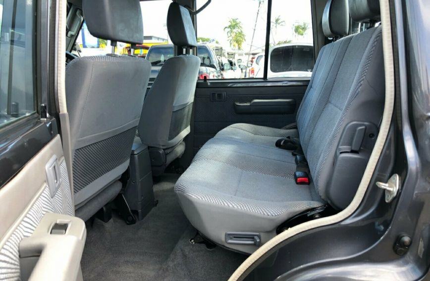 2014 TOYOTA LANDCRUISER GXL  VDJ79R Turbo CAB CHASSIS Dual Cab