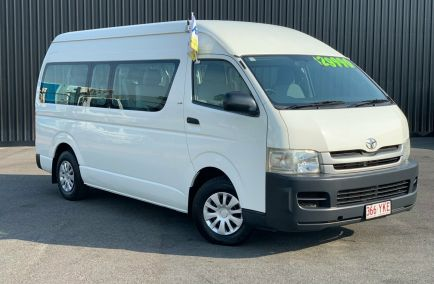 Used 2009 TOYOTA HIACE KDH223R Bus 5dr Commuter High Roof Super LWB 14st Man 5sp 3.0DT