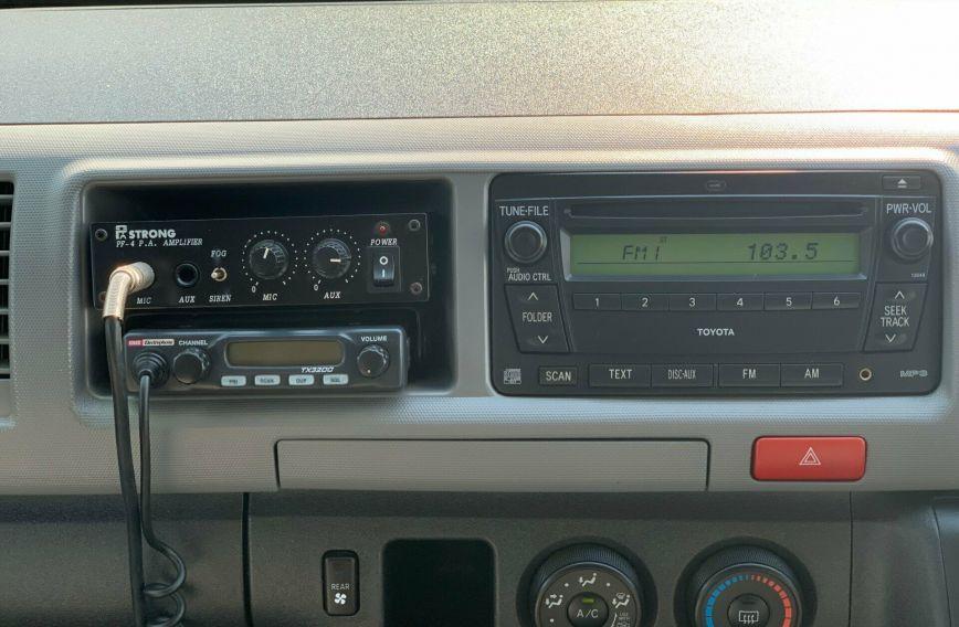 2009 TOYOTA HIACE Commuter  KDH223R Turbo BUS