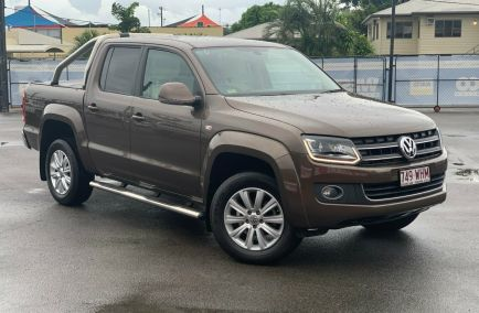 Used 2015 VOLKSWAGEN AMAROK 2H Utility 4dr TDI420 Highline Dual Cab Auto 8sp 4MOTION Perm 2.0DTT 991kg