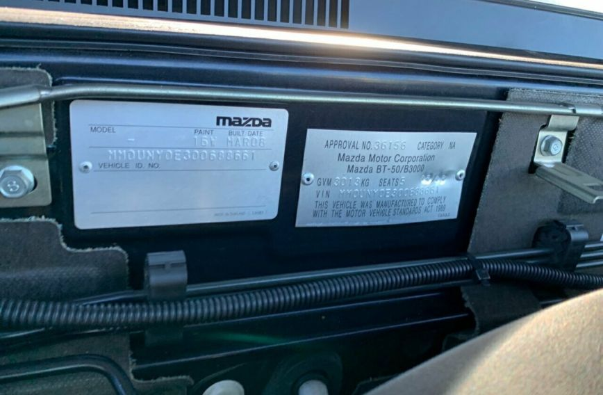2008 MAZDA BT-50 SDX  UNY0E3 Turbo Dual Cab Utility