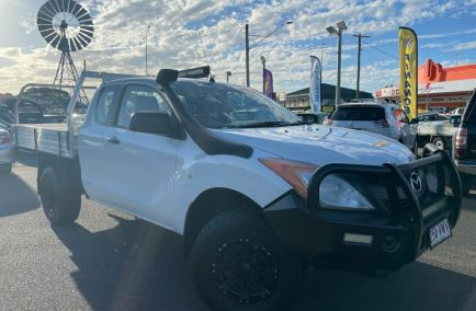 Used 2015 MAZDA BT-50 UP0YF1 XT Cab Chassis Freestyle 4dr Man 6sp 4x4 1343kg 3.2DT