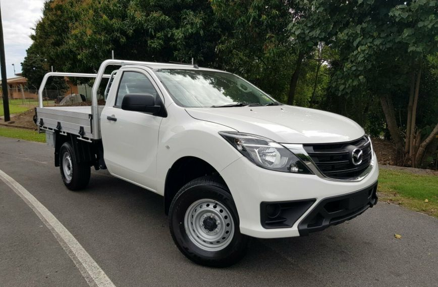 2018 MAZDA BT-50 XT  UR0YE1 Turbo Single Cab Chassis Utility