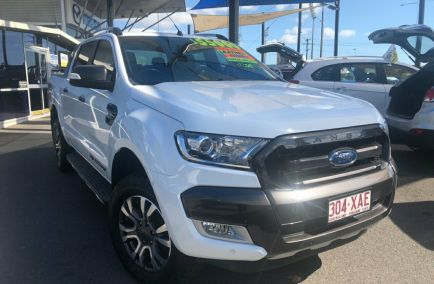 Used 2016 FORD RANGER PX MkII Utility 4dr Wildtrak Double Cab Spts Auto 6sp 4x4 3.2DT 907kg