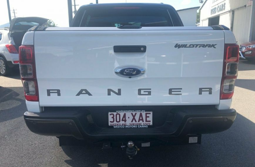 2016 FORD RANGER Wildtrak  PX MkII Turbo UTILITY Dual Cab