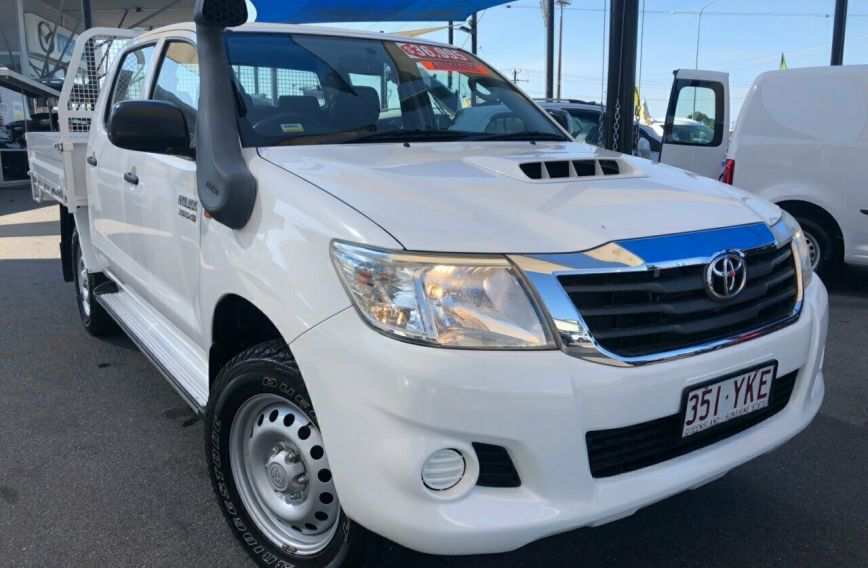 2014 TOYOTA HILUX SR  KUN26R Turbo UTILITY Dual Cab