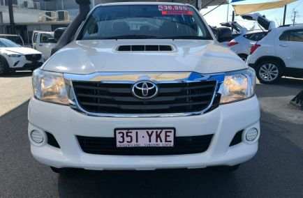 2014 TOYOTA HILUX SR  KUN26R Turbo Dual Cab Utility