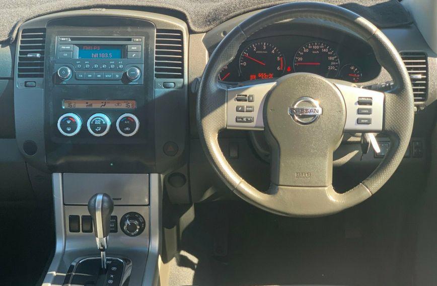 2013 NISSAN NAVARA ST-X  D40 S5 Turbo UTILITY Dual Cab