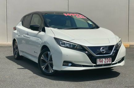 Demo 2019 NISSAN LEAF ZE1 Hatchback 5dr Reduction Gear 1sp AC110kW