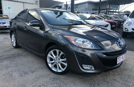 Used 2009 MAZDA 3 BL10L1 Sedan 4dr SP25 Activematic 5sp 2.5i