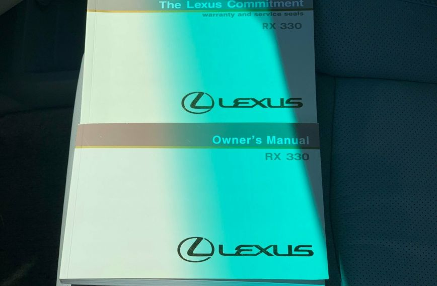 2005 lexus rx330 service manual