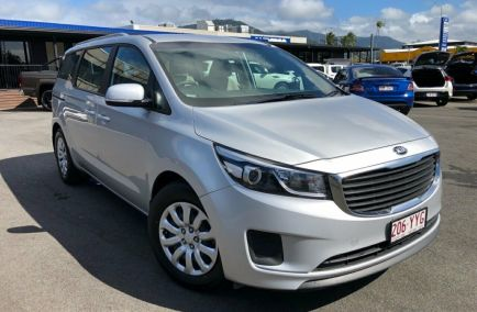 Used 2017 KIA CARNIVAL YP Wagon 5dr S 8st Spts Auto 6sp 3.3i